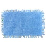 Tufted Fringe Bath Rug