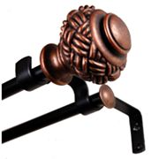 BCL Drapery Hardware Hannah Double Curtain Rod