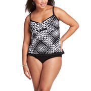 Apt. 9 Geometric Swim Separates - Women's Plus