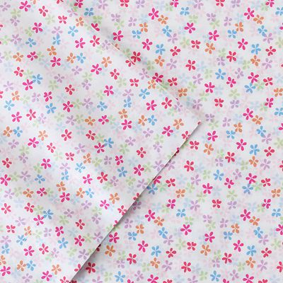 Jumping Beans Flowers Sheet Set