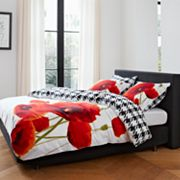 Essenza Mary Poppy Reversible Duvet Cover Set
