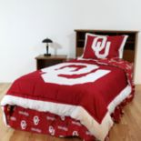 Oklahoma Sooners Bed Set