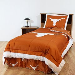 Texas Longhorns Bed Set