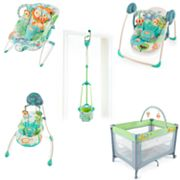 Bright Starts Playful Pals Baby Gear Collection