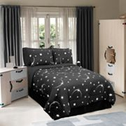 Stellar Glow-in-the-Dark Bedding Coordinates