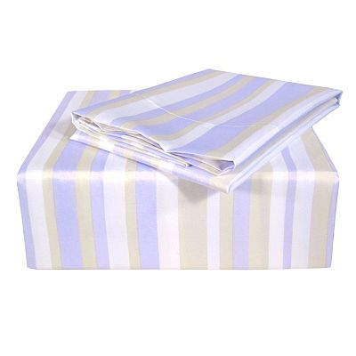Stellar 300-Thread Count Striped Sheet Set