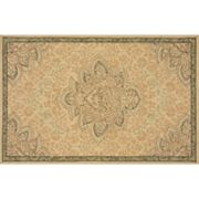 Momeni Veranda Framed Floral Indoor Outdoor Rug