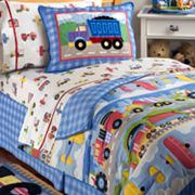 Olive Kids Trains, Planes and Trucks Comforter Set