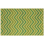 Shaw Living Al Fresco Chevron Indoor Outdoor Patio Rug