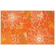 Shaw Living Al Fresco Daisies Indoor Outdoor Patio Rug