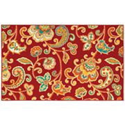 Shaw Living Al Fresco Paisley Indoor Outdoor Patio Rug