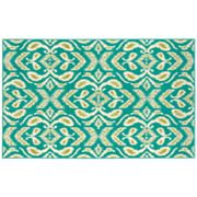 Shaw Living Al Fresco Ikat Indoor Outdoor Patio Rug