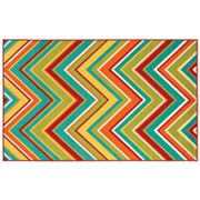 Shaw Living Al Fresco Zigzag Indoor Outdoor Patio Rug