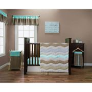 Trend Lab Cocoa Mint Bedding Coordinates