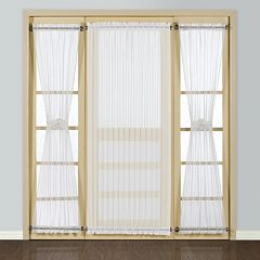 United Curtain Co. Batiste Door Window Treatments