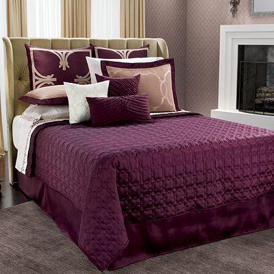 Jennifer Lopez bedding collection Astor Place Quilted Coverlet