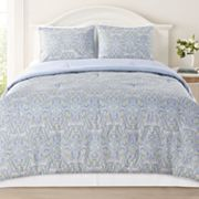 Laura Ashley Maiden Lane 3-pc. Comforter Set