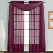 United Curtain Co. Monte Carlo Scarf Window Treatments