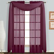 United Curtain Co. Monte Carlo Scarf Window Treatments