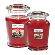 Yankee Candle simply home Rainwashed Berry Jar Candles