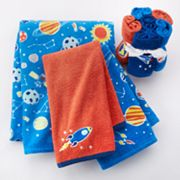 Jumping Beans Blast Off Bath Towels