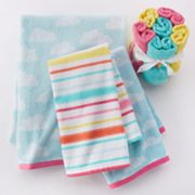 Jumping Beans In The Air Bath Towels