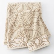 Apt. 9 Trace Floral Bath Towels