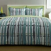 City Scene Urban Plaid Bed Set