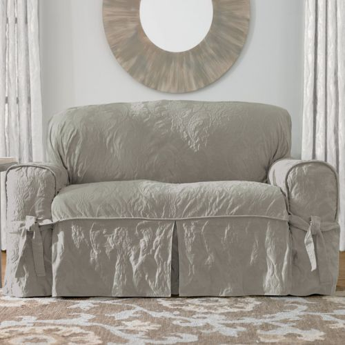 Sure Fit Matelasse Damask Slipcovers