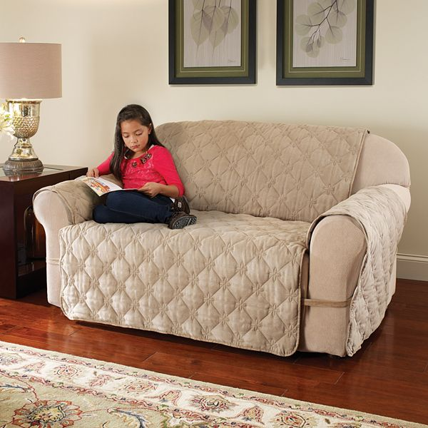 Innovative Textile Solutions Ultimate Loveseat Faux Suede