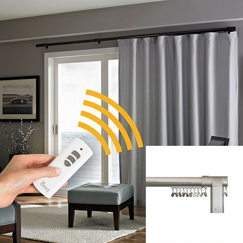 curtain and closer concept long full motorized hardware remote rod electric automatic size traverse striking blind of system pictures opener rods control drapery