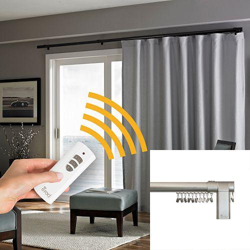 system remote cinema stargate t rod motorized control curtain