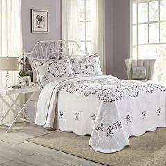 Peking Gwen Quilted Bedspread Coordinates