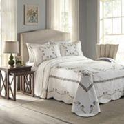 Peking Heather Quilted Bedspread Coordinates