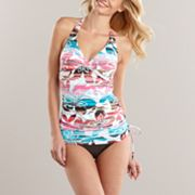Croft and Barrow For for You Floral Swim Separates