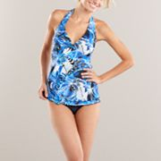Croft and Barrow Fit For You Leaf Swim Separates
