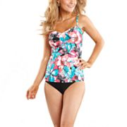 Croft and Barrow Fit For You Floral Swim Separates