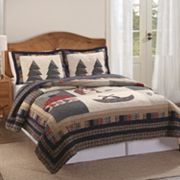 Bear Lodge Quilt Set