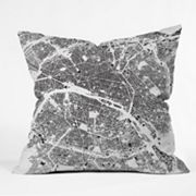 DENY Designs CityFabric Inc. Paris Decorative Pillow