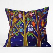 DENY Designs Renie Britenbucher Owl Party Decorative Pillow