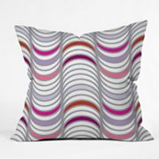 DENY Designs Karen Harris Candy Tidal Wave Decorative Pillow