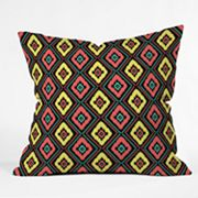 DENY Designs Jacqueline Maldonado Zig Zag Ikat 1 Decorative Pillow