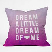 DENY Designs Leah Flores Dream Decorative Pillow