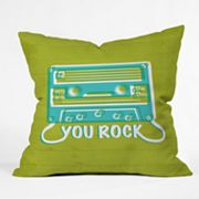 DENY Designs Heather Dutton You Rock Decorative Pillow