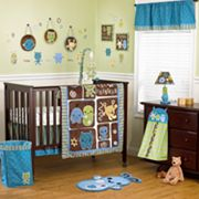 CoCaLo Baby Peek A Boo Monsters Bedding Coordinates