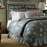 Chaps Summer Porch 300-Thread Count 3-pc. Duvet Cover Set