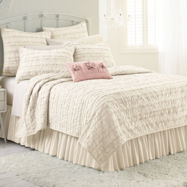 Bed Amp Bath Compare Lc Lauren Conrad Allie Ruffle