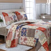 Amelia Reversible Quilted Bedspread Set