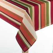 Croft and Barrow Dark Stripe Tablecloth