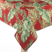 Croft and Barrow Palm Tablecloth